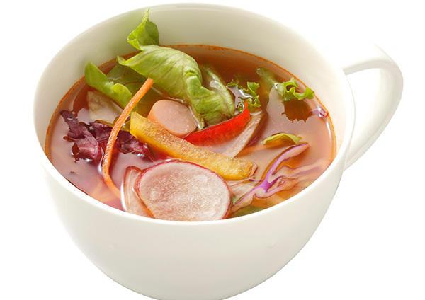 10品目野菜のミネストローネ 画像