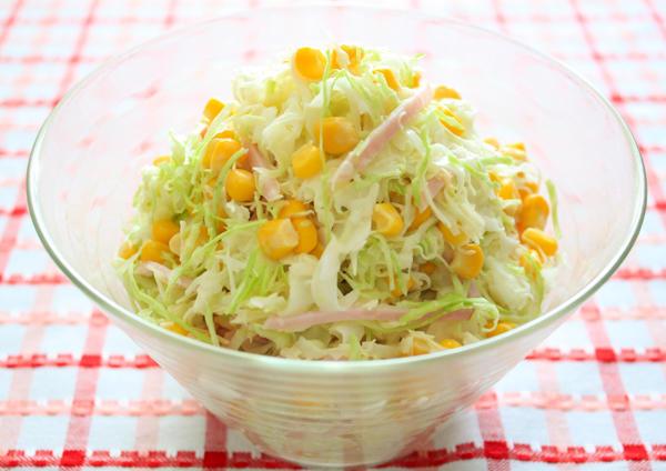 サラダ 人気 コールスロー レシピ