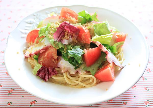 Img octopus quinoa pastasalad