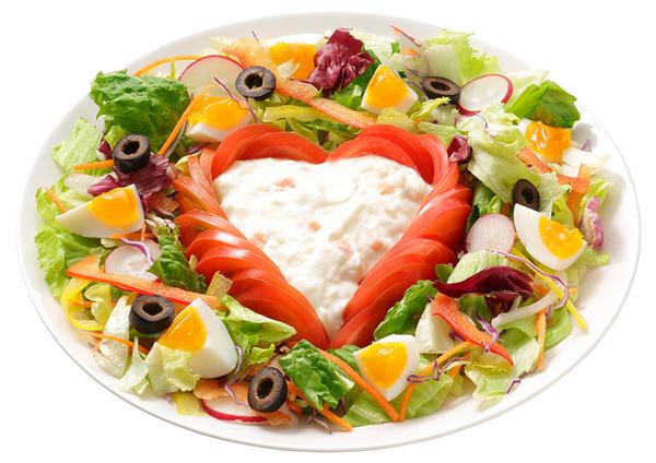 クリーミーポテトのハートフルサラダ 画像