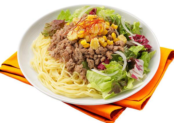 サラダで簡単冷やし中華 画像