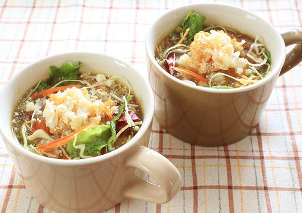 しゃきしゃき野菜のチーズカレースープ 画像